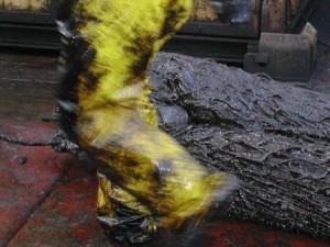 Janvier 2003, la chasse au pétrole du Prestige © Denis Delbecq