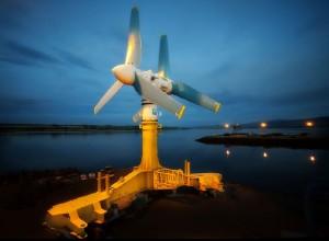 hydrolienne de 1 MW de puissance maximale © Atlantis