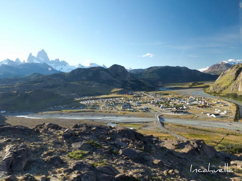 El Chaltén, petit village au pied du mont Fitz Roy - patrimoine mondial de l'Unesco © Incahuella
