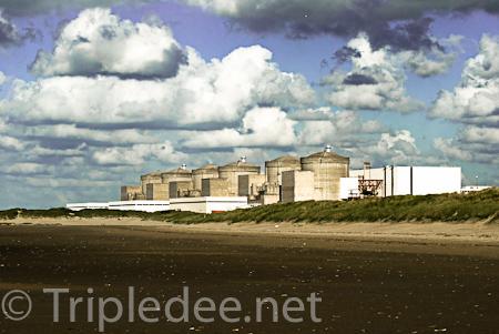 En France, la centrale nucléaire de Gravelines (Nord)