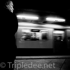 Dans le métro de Londres © DDq
