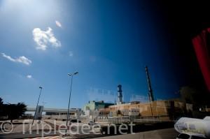 L'usine de retraitement nucléaire de la Hague (Manche) © Denis Delbecq