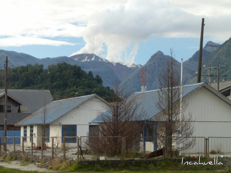 Le volcan Chaitén fume tous les jours © Incahuella