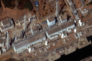 La centrale de Fukushima, après l'accident © Digital Globe