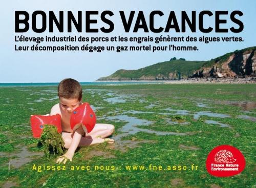 Une campagne d'affichage lancée par France Nature Environnement avait provoqué un tollé ©FNE