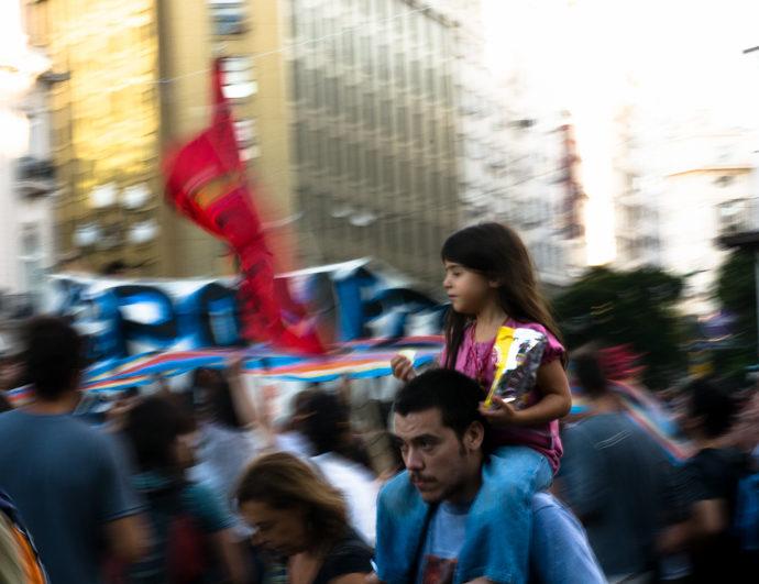 Manifestation à Buenos Aires © Denis Delbecq